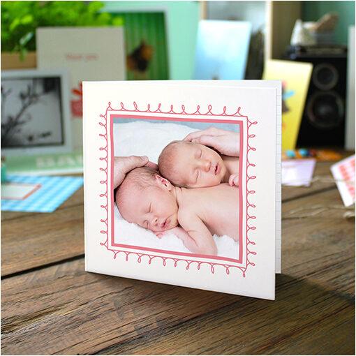 Geboortekaartjes tweeling