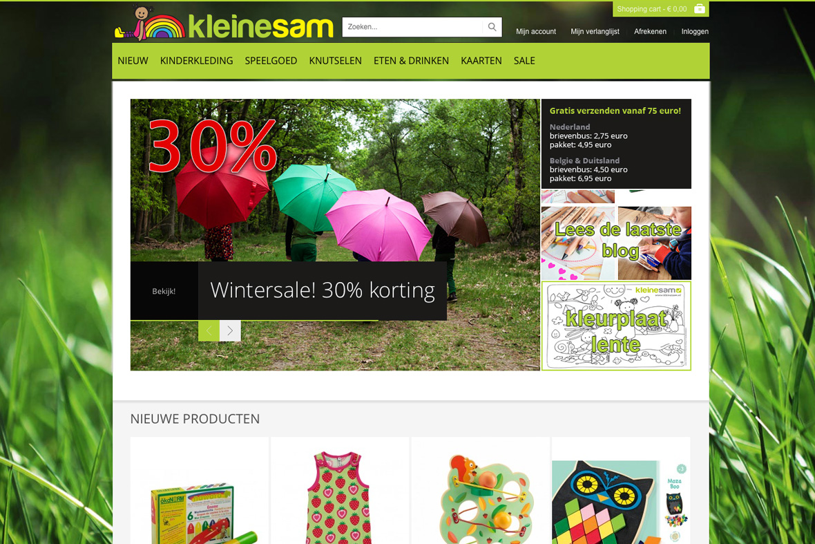 website_kleinesam_screenshot_vriendenvanstudiodraak