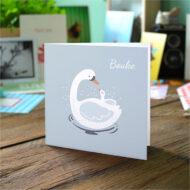 Gevouwen geboortekaartjes