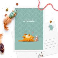 Postkaart Studio Draak