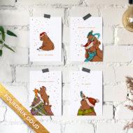 Postkaarten Studio Draak.