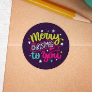 Studio Draak stickers Kerst.