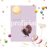 Postkaart verjaardag